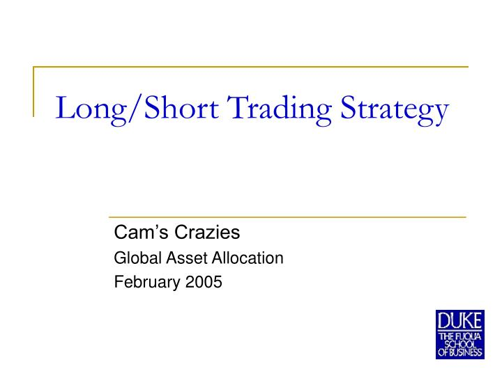 portfolio trading strategies essay The team includes visionaries in portfolio strategy, behavioral finance and consumer technology they are dedicated to managing your strategic investment portfolios, including portfolio construction and monitoring, security selection and trade oversight.