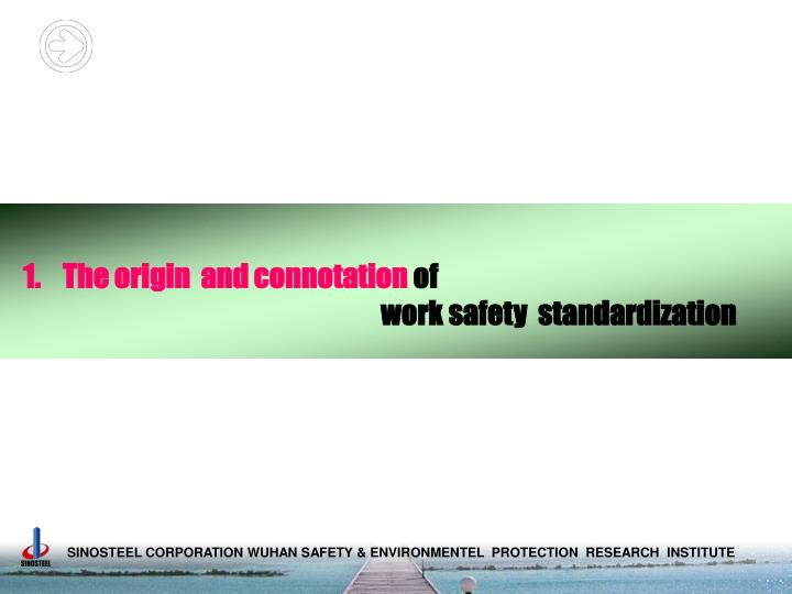 The origin  and connotation