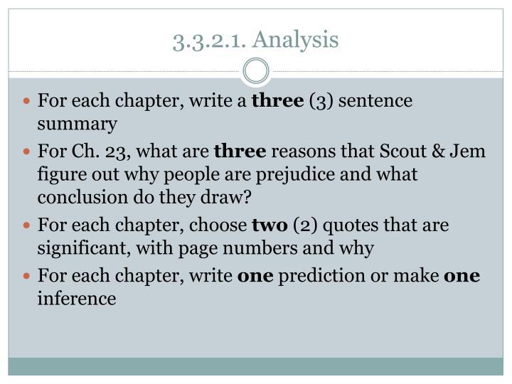 3 3 2 1 analysis