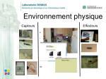 environnement physique