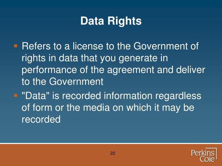 Data Rights