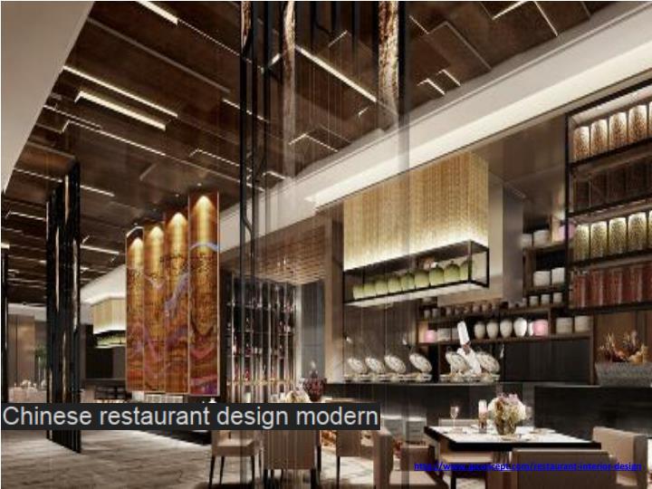 Ppt restaurant interior design powerpoint presentation