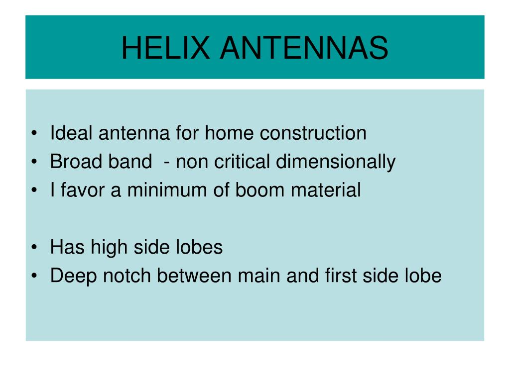 PPT - L BAND HELIX ANTENNA ARRAY PowerPoint Presentation - ID:6007730