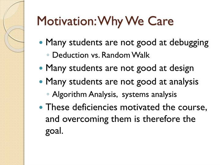 Motivation: Why We Care
