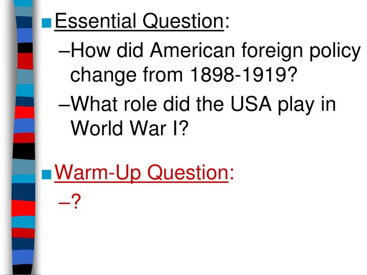 american foreign policy during the cold war