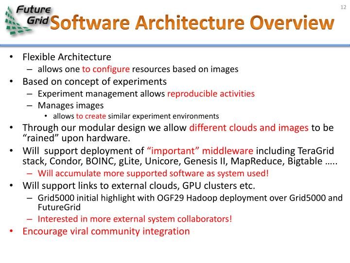 Software Architecture Overview