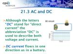21 3 ac and dc