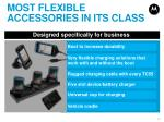 most flexible accessories in its class