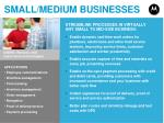 small medium businesses