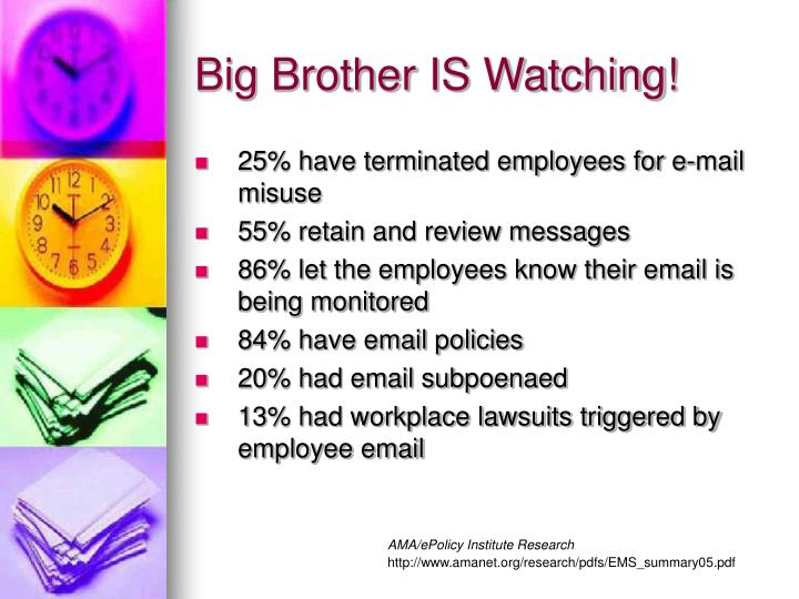 Big Brother IS Watching!