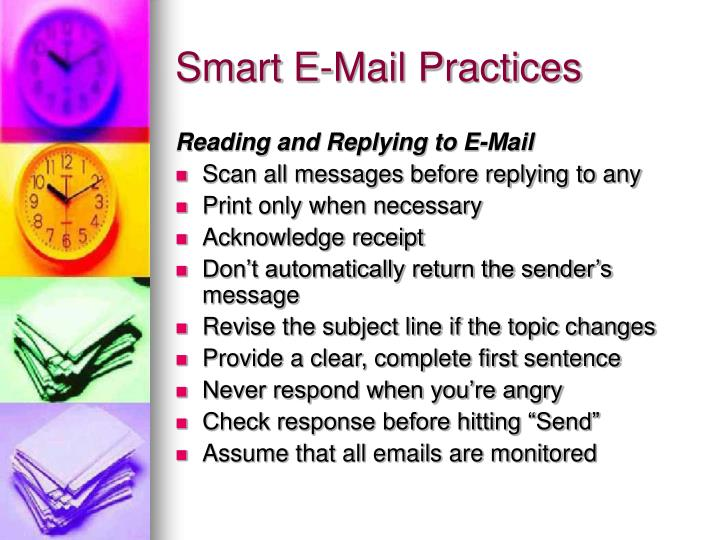 Smart E-Mail Practices