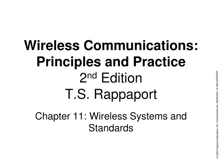 9780130422323: wireless communications: principles and practice.