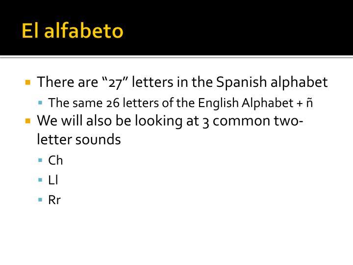 El alfabeto1