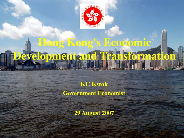 hong kong s economic development and transformation n.