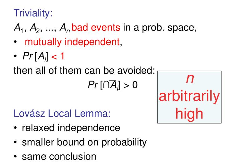 Triviality: