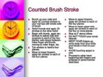 counted brush stroke1