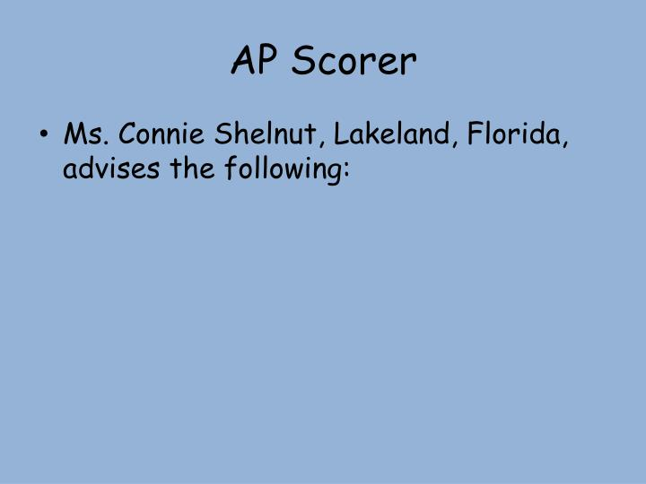 essay scorer lakeland