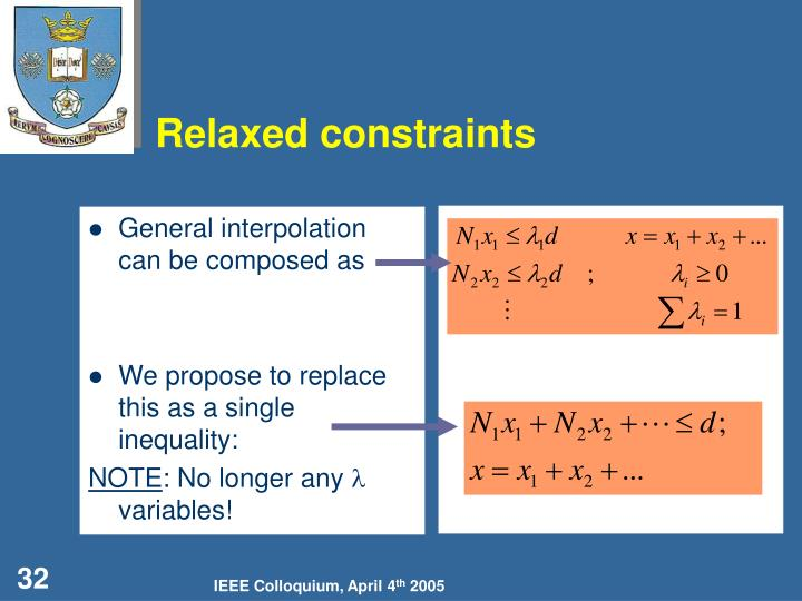 General interpolation can be composed as