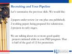 recruiting and your pipeline2