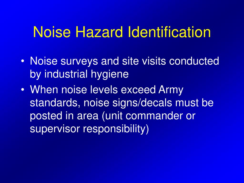 PPT - AVIATION & HEARING CONSERVATION PowerPoint