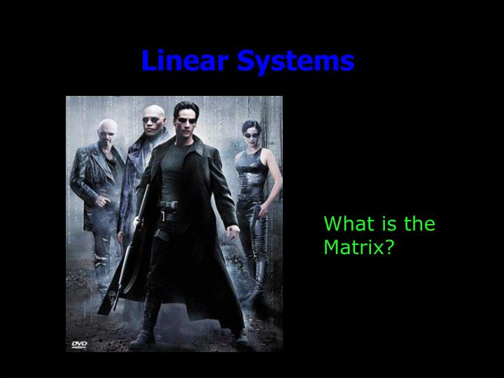 linear systems n.
