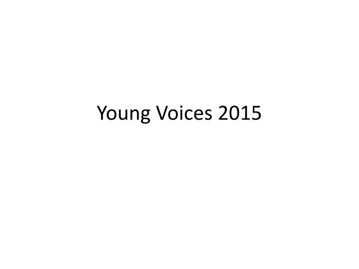 young voices 2015 n.