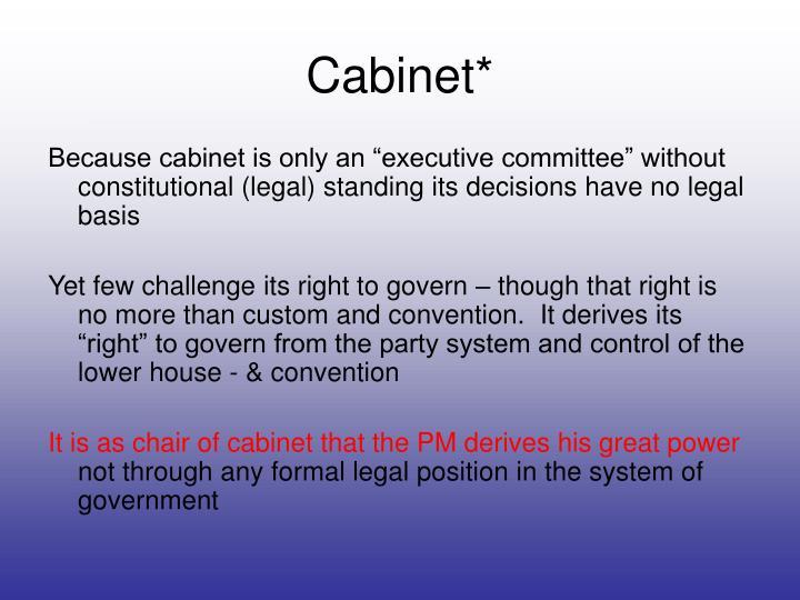 Cabinet*