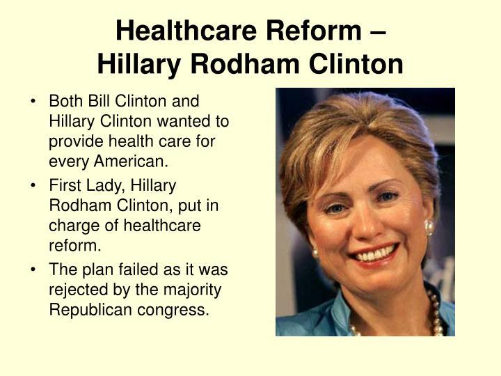 Healthcare Reform –
