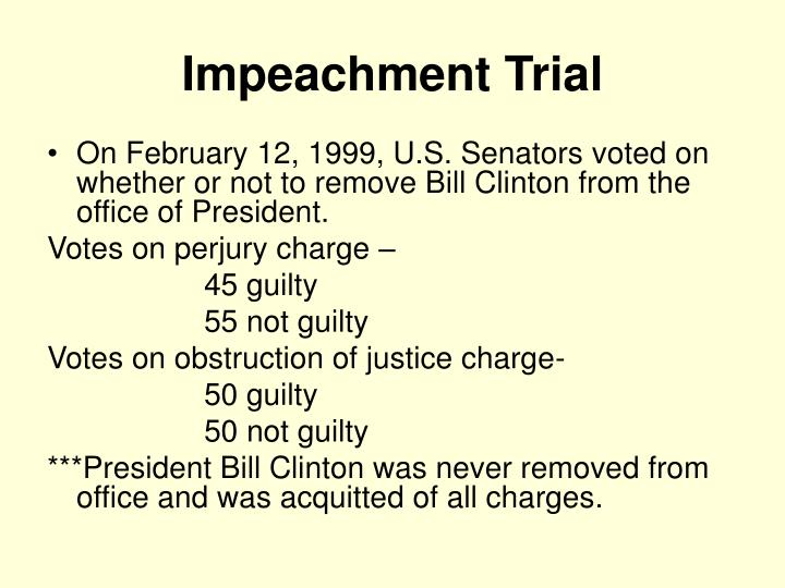 Impeachment Trial