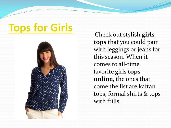 Tops for Girls