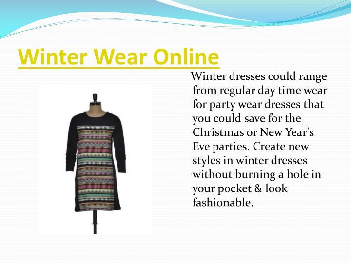 Winter Wear Online