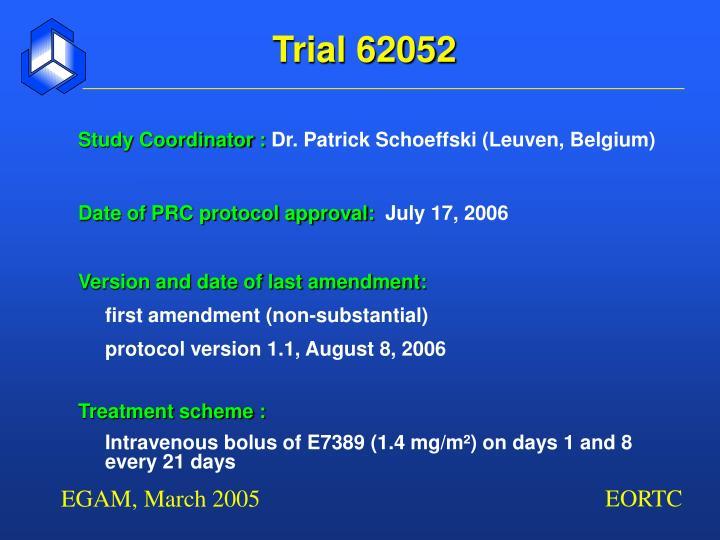 Trial 62052
