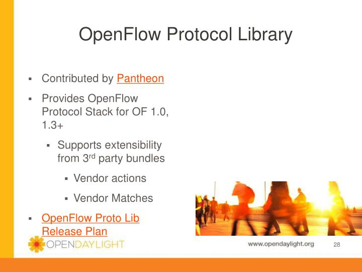 Openflow Protocol Library