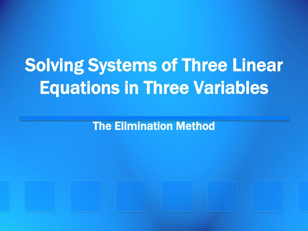 systems with three variables - 720×540