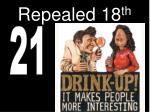 repealed 18 th