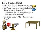 ernie casts a ballot1