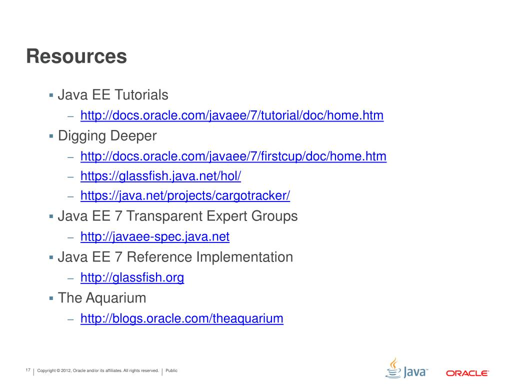 PPT - JavaScript/HTML5 Rich Clients Using Java EE 7