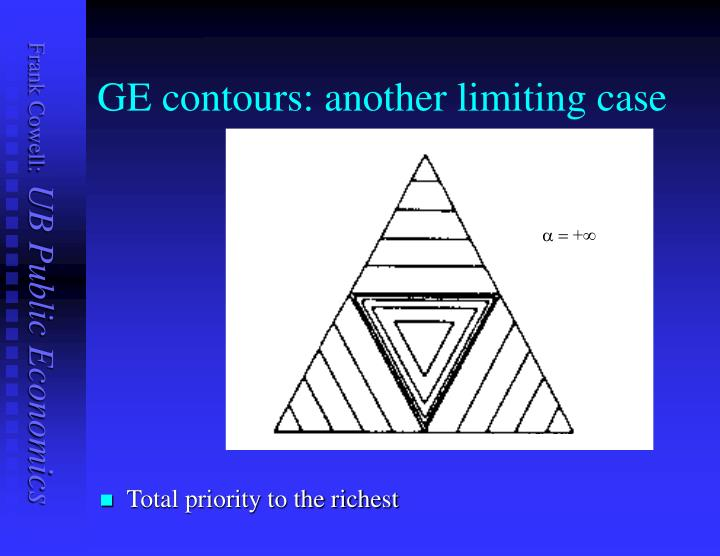 GE contours: another limiting case