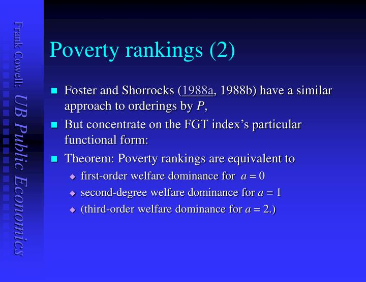 Poverty rankings (2)