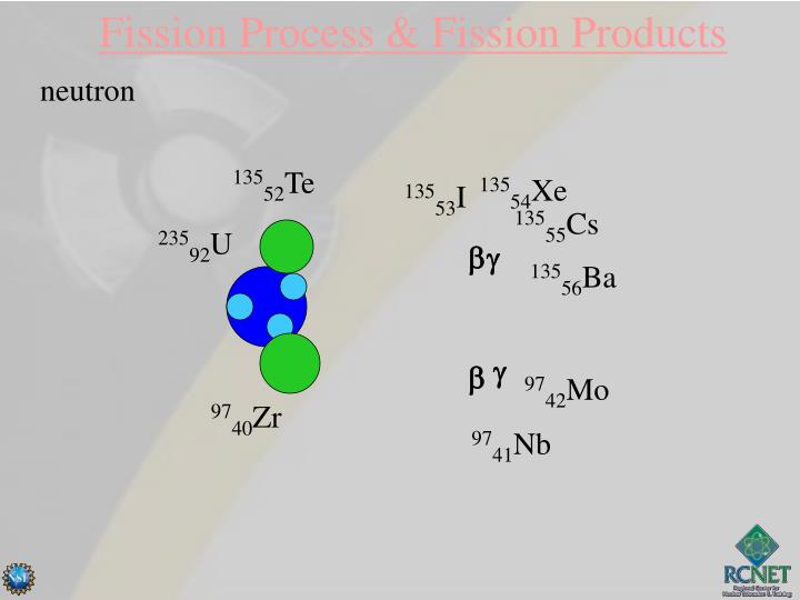 Fission Process & Fission Products