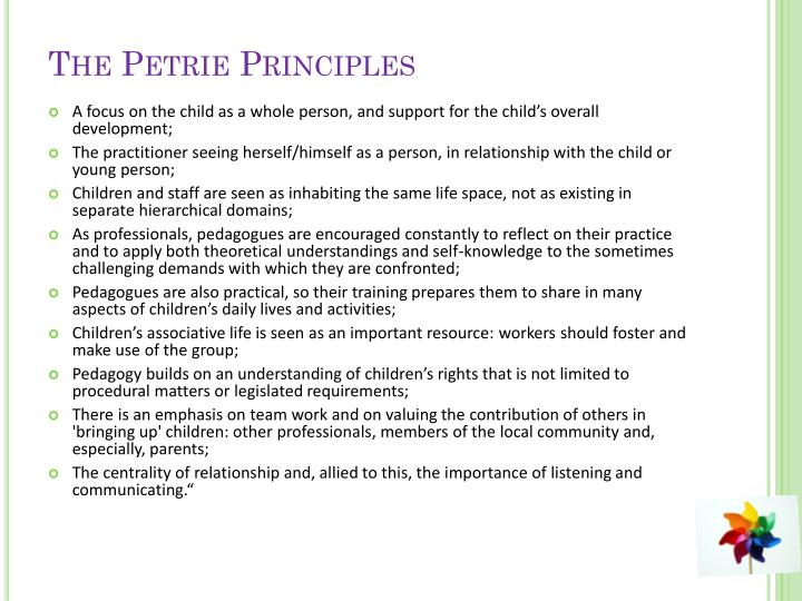 The Petrie Principles