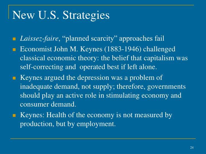 New U.S. Strategies
