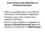 final contact with som office of graduate education4