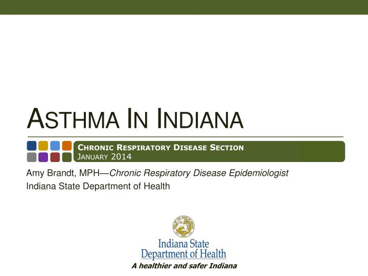 Asthma in indiana
