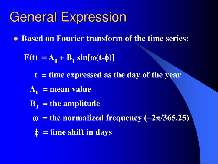 General Expression