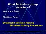 what furnishes group structure2