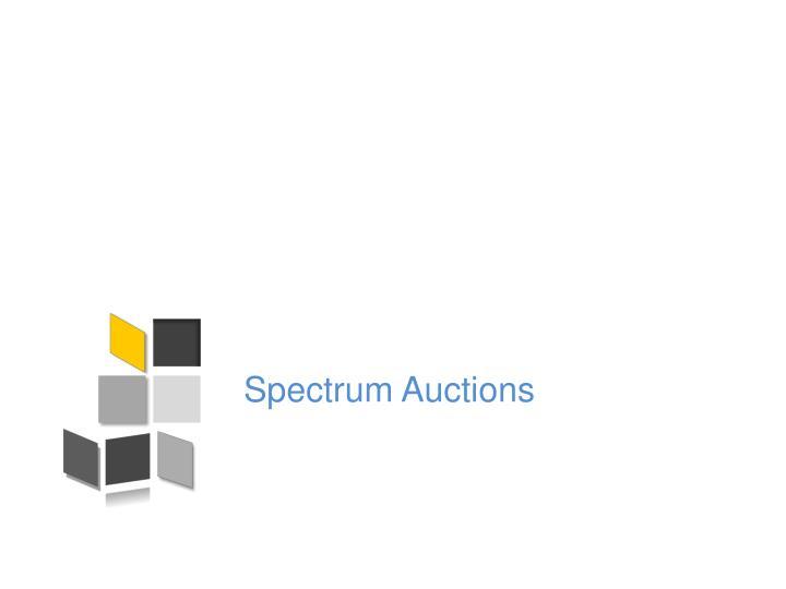 Spectrum Auctions