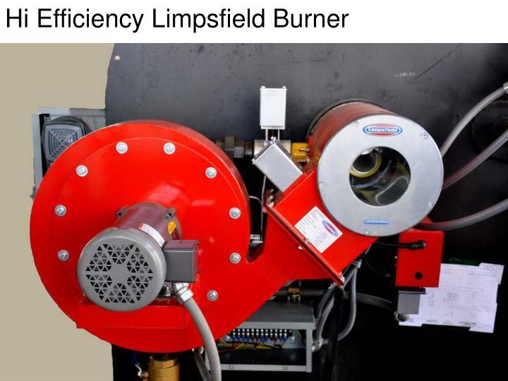 Hi Efficiency Limpsfield Burner
