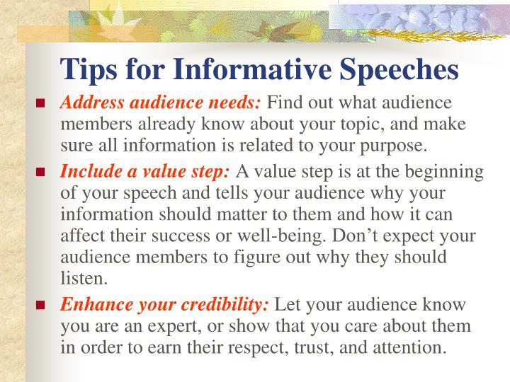 informative speech on mythology Informational speech topics:  an informative speech is a balanced factual presentation of the  food culture, multiculturalism, cultural mythology, popular.