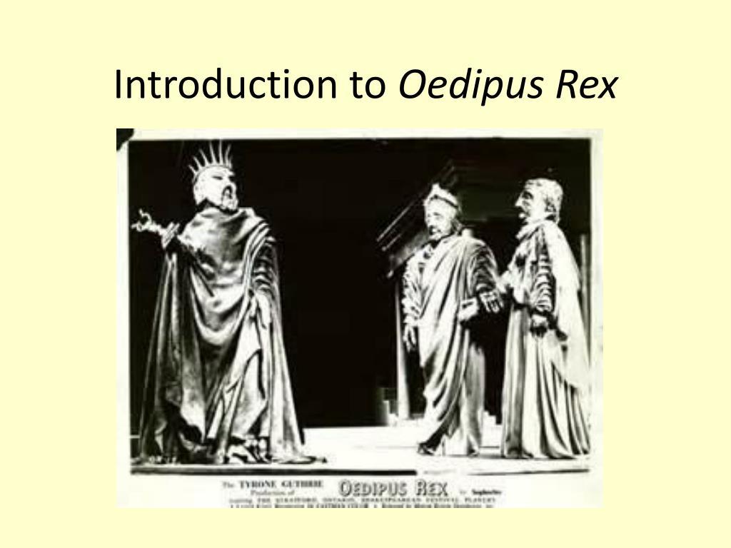 oedipus rex oracle